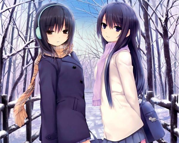 black hair anime girl characters - Google Search