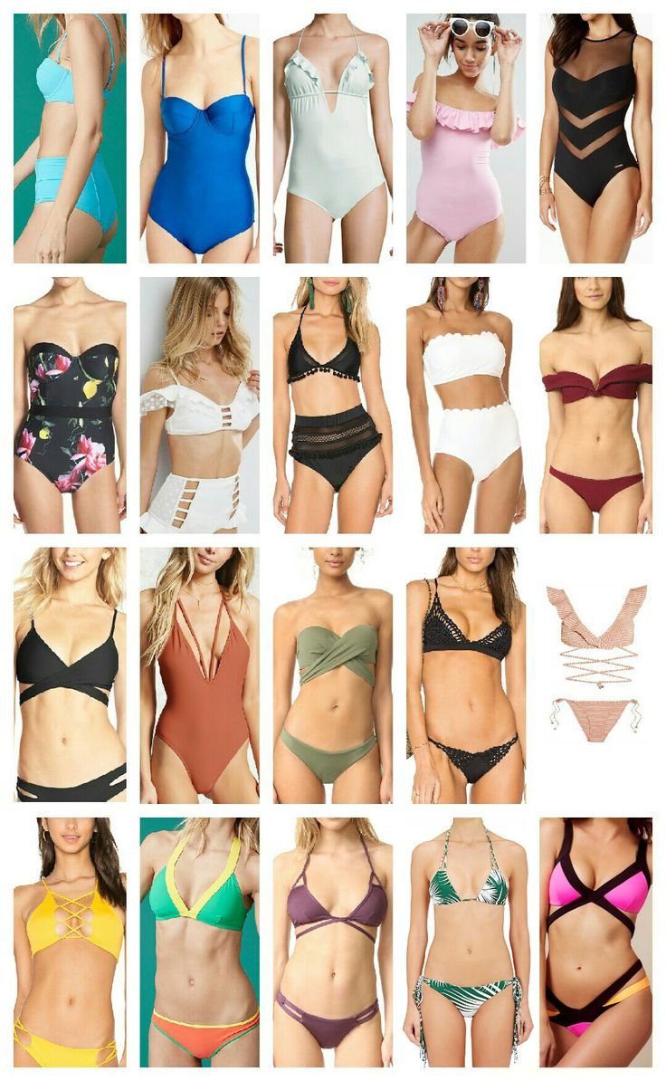 Women's Swimsuits Ideas | Γυναικεία μαγιό 2017