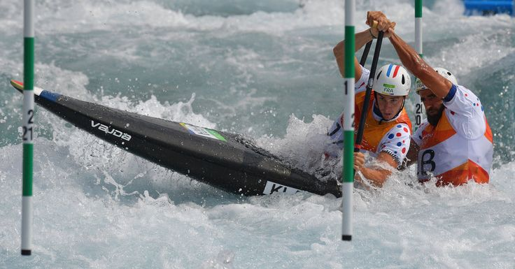 Paddlers from 36 countries navigated slalom gates along a 250-meter stretch of man-made rapids at 1st World Cup event in Prague last week.