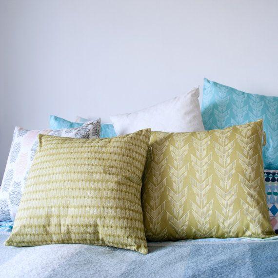 Pillowcase 45x45 cm Mossgrön