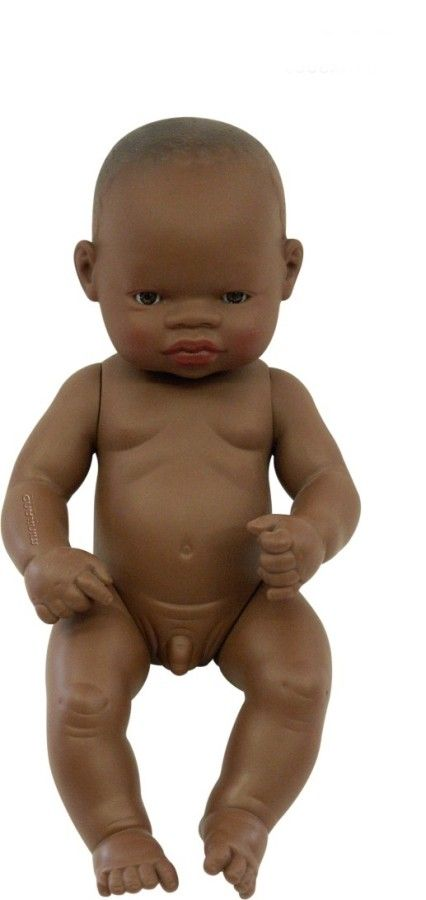 Miniland - Doll African Boy 32cm A child can never have too many dolls, and miniland dolls offer gorgeous baby dolls that are anatomically correct of different ethnicities #EntropyWishList #PinToWin