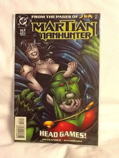 Martian Manhunter #3 From the Pages of JLA Head Games DC Comic Books