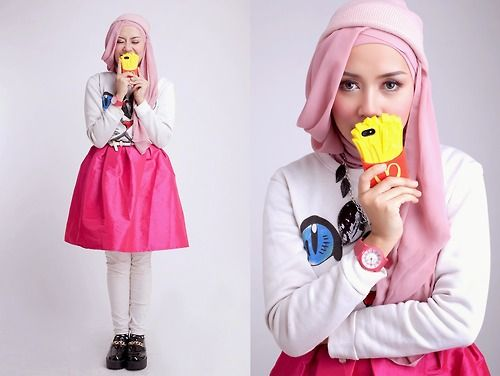 Hijab can be very fashionable