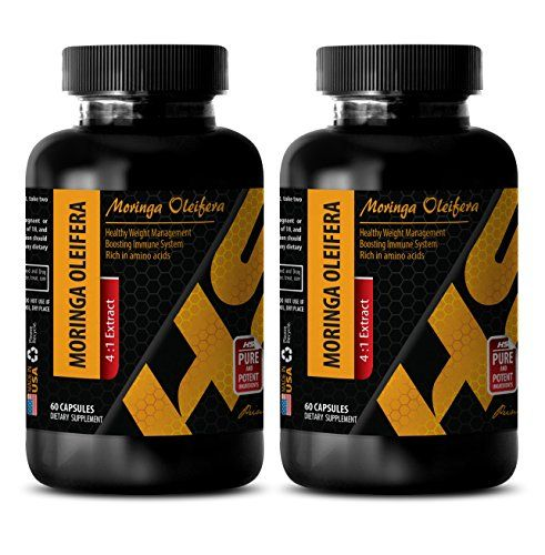 Fat burner pills - MORINGA OLEIFERA 4:1 EXTRACT - Moringa oleifera leaf extract - 2 Bottle 120 Capsules  MORINGA OLEIFERA: Moringa Oleifera, also known as horseradish tree, ben tree, or drumstick tree, is a small tree from India, Pakistan, and Nepal that has been used for generations in Eastern countries to support healthy hearth functions, skin, digestion,liver and etc.  NATURAL SOURCE OF VITAMINS AND MINERALS: Moringa supplements are better than most of the multivitamin and calcium s...