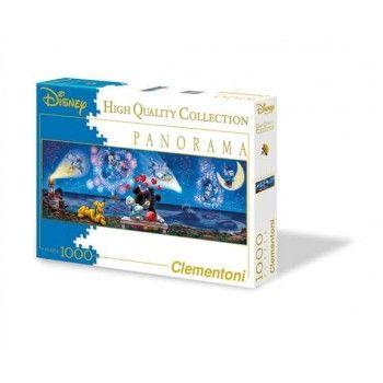 Clementoni Παζλ 1000  Disney -Πανοραμα- Ερωτευμενοι Mickey & Minnie