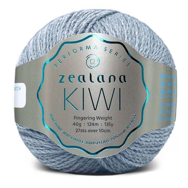 Colour Kiwi Storm blue, Performa Fingering weight, Performa Kiwi, Zealana Kiwi Storm blue, Zealana Kiwi, Storm blue 16, Zealana Storm blue, knitting yarn, knitting wool, crochet yarn.