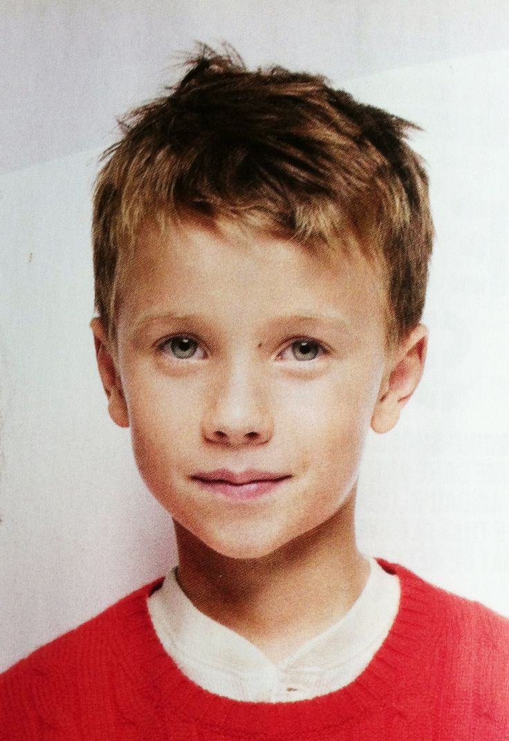 Short boy's haircut from Crewcuts catalog