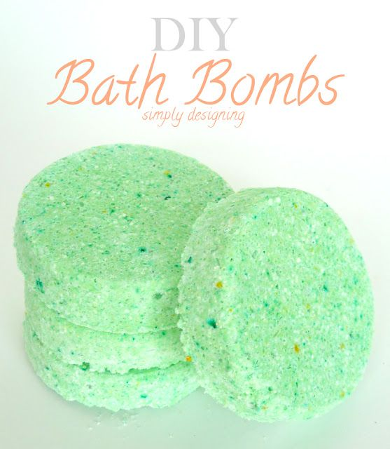 DIY Bath Bombs (aka fizzy bath bombs) - Even though I have like a thousand of these recipes