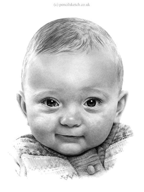 Portrait of a baby by anna shipstone portrait of a baby drawing portrait of a baby fine art prints and posters for sale