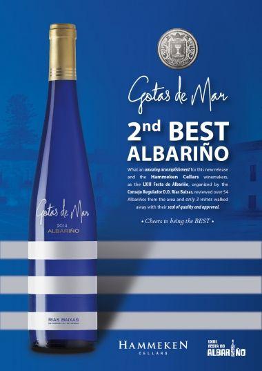 Gotas de Mar the 2nd Best Albariño   News & Events   Hammeken Cellars