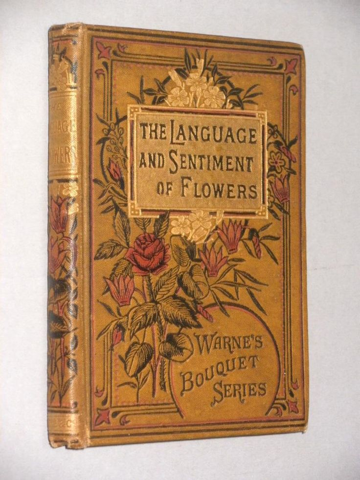 Warne's Bouquet Series: The Language of flowers.