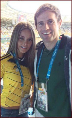 Bongdaso - Bóng đá số - Tin tức - Lộ diện nữ phóng viên gợi tình nhất World Cup 2014