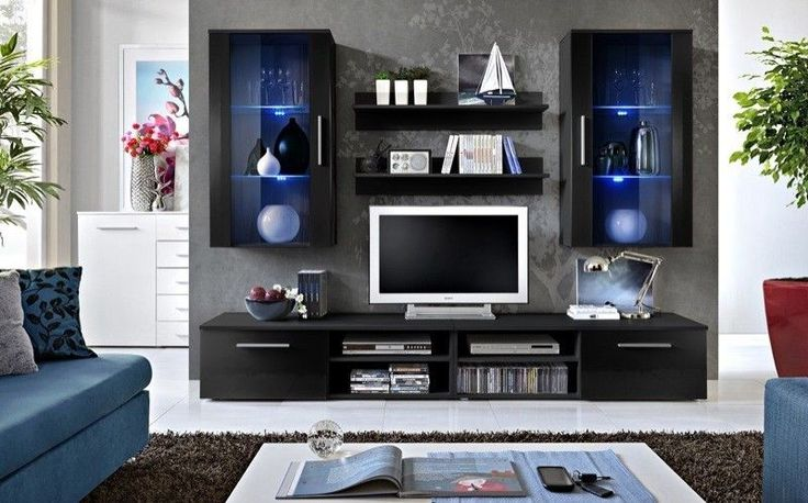 TV WALL UNIT/TV CABINET/TV STAND       Galaxy  NIGHT …