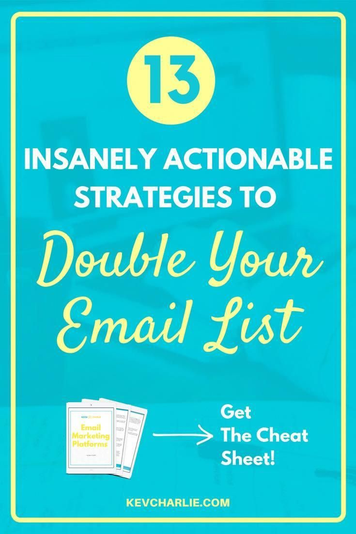 Do you want to grow your email list, but are not quite sure