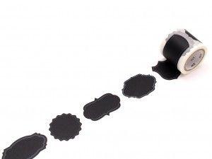 Masking tape, taśma washi, mt, taśma dekoracyjna -Label