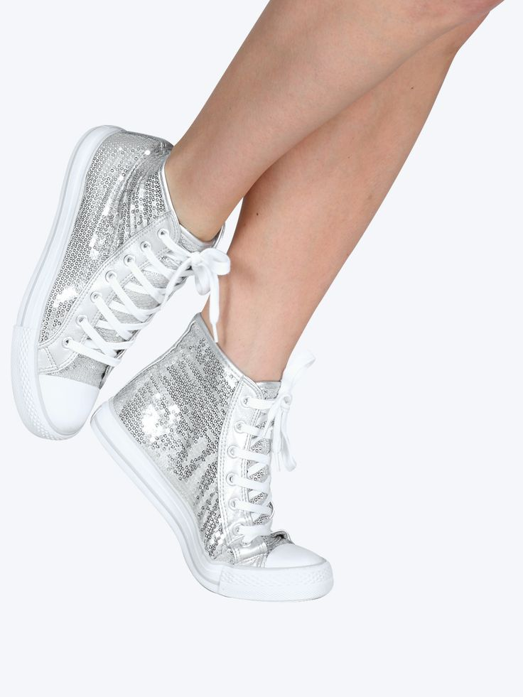 GOTTA FLURT SEQUIN HIGH TOP SNEAKER