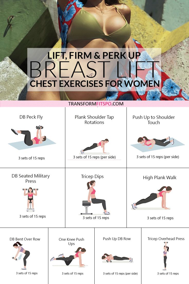 Chest Exercises for Women to Lift and Perk Up Breasts 1