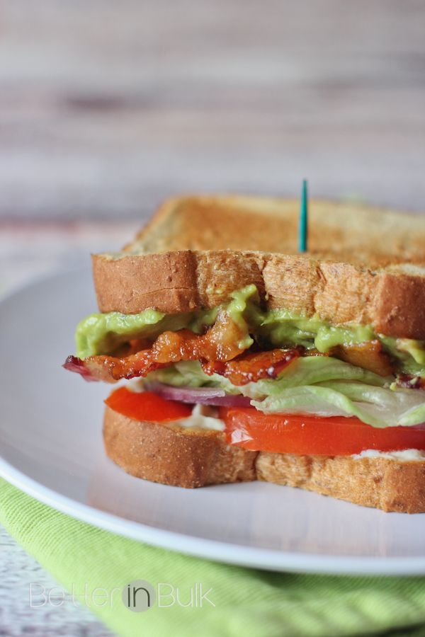Loaded Guacamole BLT