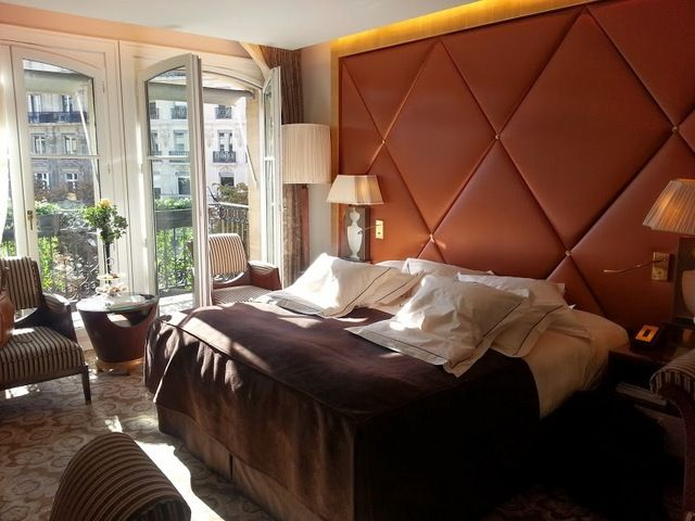 Deluxe King Bedded Room at Fouquet's Barriere Paris