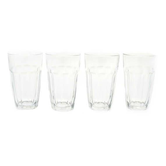 Essential Manhattan Hi-Ball Glasses 4 Piece