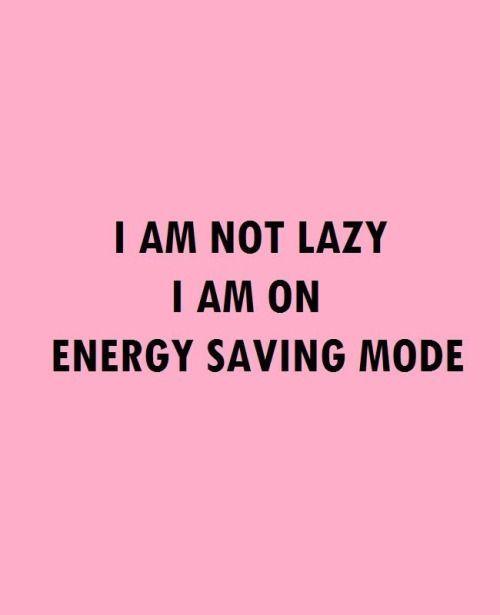 Energy saving mode..