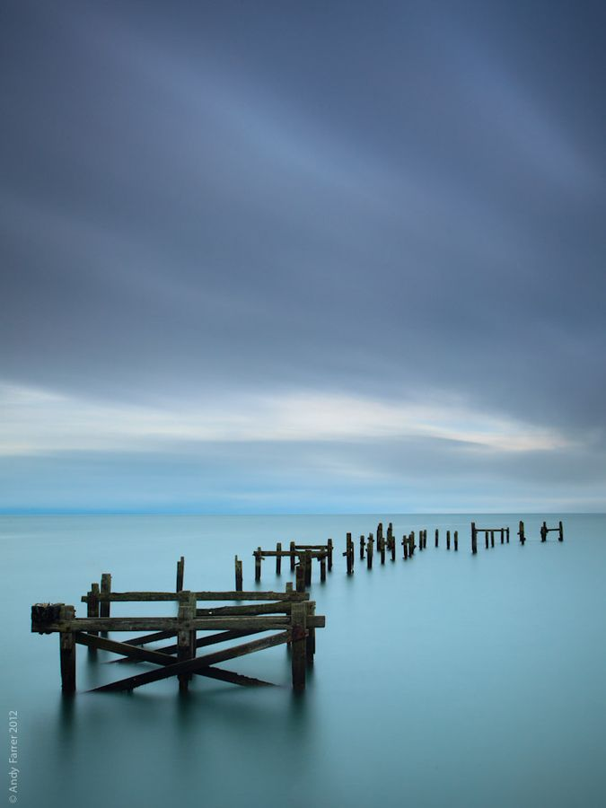This is beautiful. Old  Pier  .*-*.(Swanage.Pier)England.