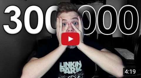 luckeY | 300.000 sub. | Linkin Park T-shirt.... ❤ ( he is a soldier too...)