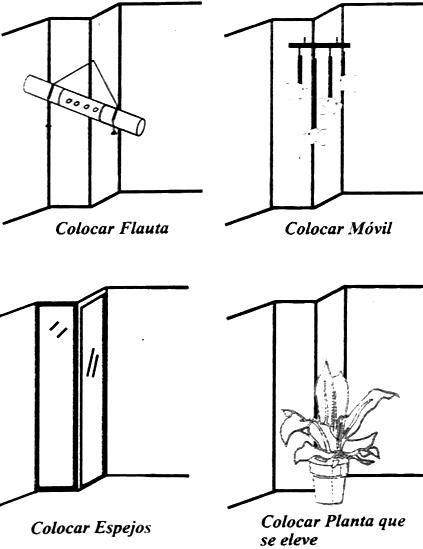 columnas, feng shui
