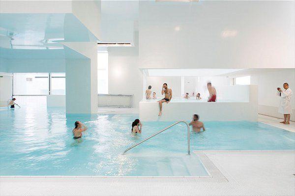 Les Bains Des Docks Aquatic Center in Le Havre, France, - Les Bains Des Docks Aquatic Center 11