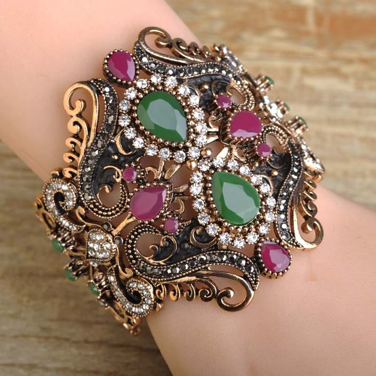 Super Big ExaggerateTurkish Simulated Resin Women Bangles Bohemia Style Indian Wide Pulseiras Mujer Bijuteria Retro Wrist Joyas $17.44  Like if you rememberVisit our store --->  http://www.fancyjewelries.net/product/super-big-exaggerateturkish-simulated-resin-women-bangles-bohemia-style-indian-wide-pulseiras-mujer-bijuteria-retro-wrist-joyas/ #Ring #Jewelry #homemade #shop #beauty #Woman's fashion #Products