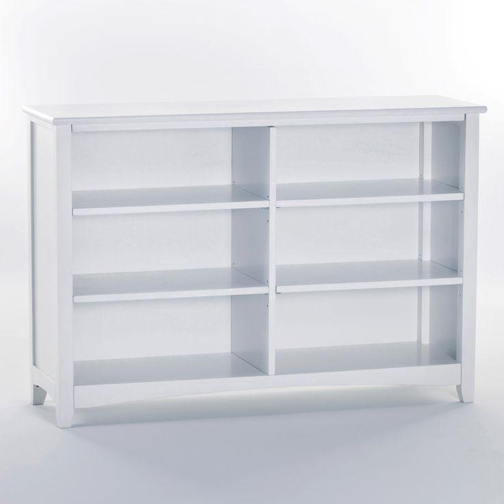 Schoolhouse Horizontal Bookcase White 329 00 On Bookcases Galore