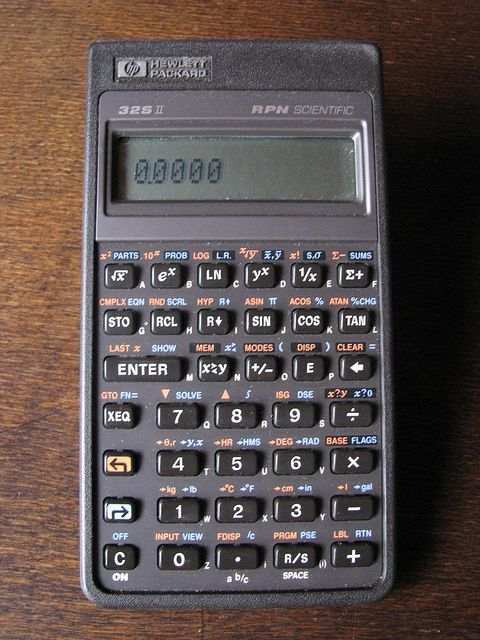HP-32 SII Scientific Calculator by retrocomputers, via Flickr