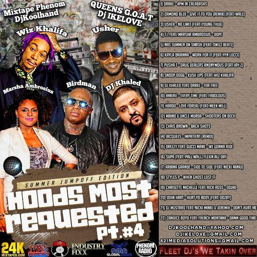 Listen to DJ Koolhand DJ Ike Love -  Hoods Most Requested pt.4