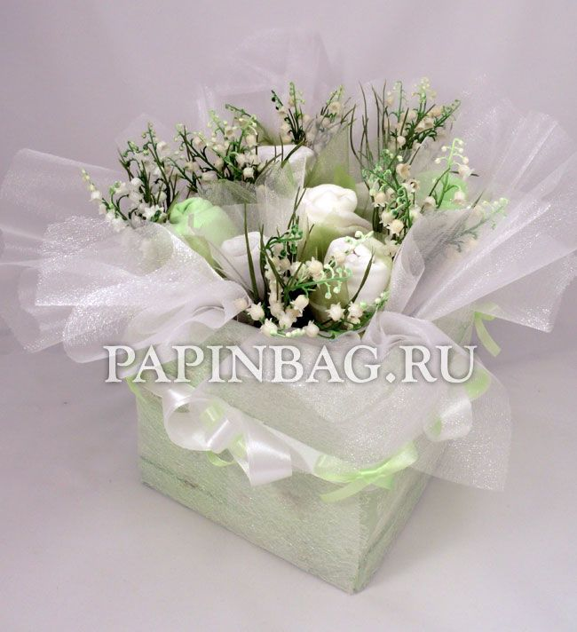 Beautyfull gift for newborn baby ..  Fine bouquets of baby clothes with  decorations