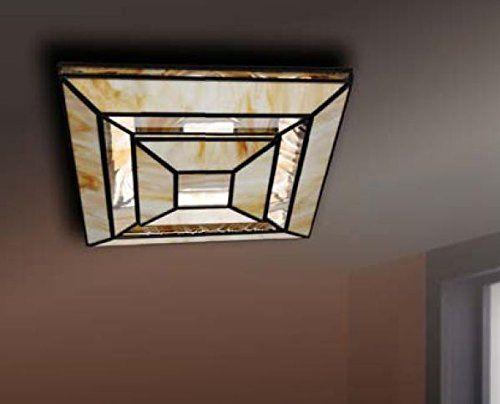Plafones de diseño artesanal aura piramide amazon es iluminación plafón aura