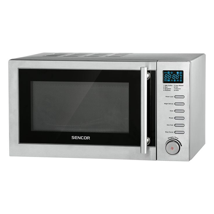 Microwave Oven SMW 6120 - Pre-programmed cooking (8 menus) - Multi-phase cooking - Quick start function
