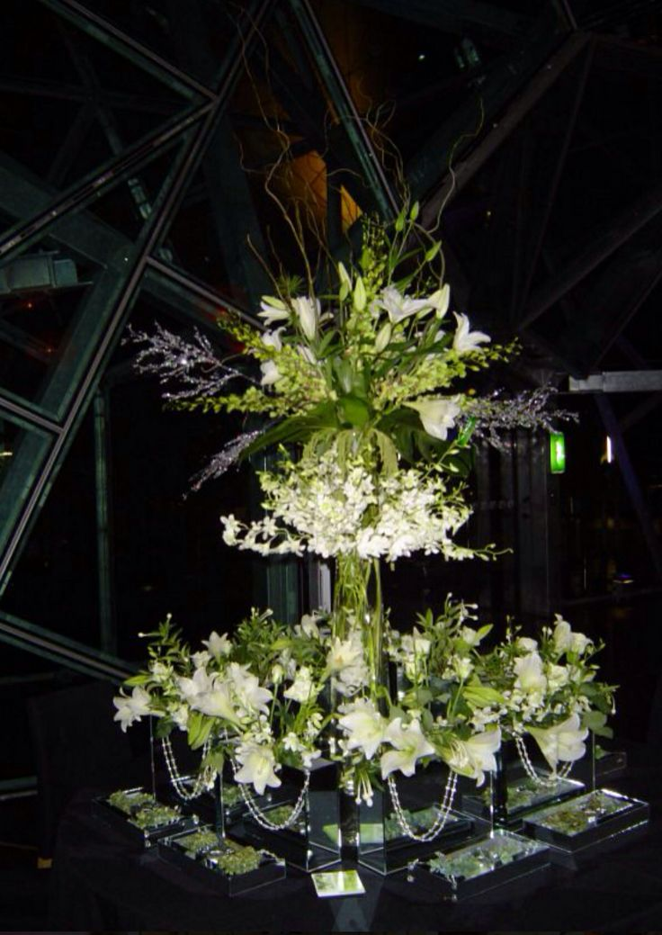 #federationsquare #corporatefunction #tablecentrepiece by www.newminsterfunctiondesign.com