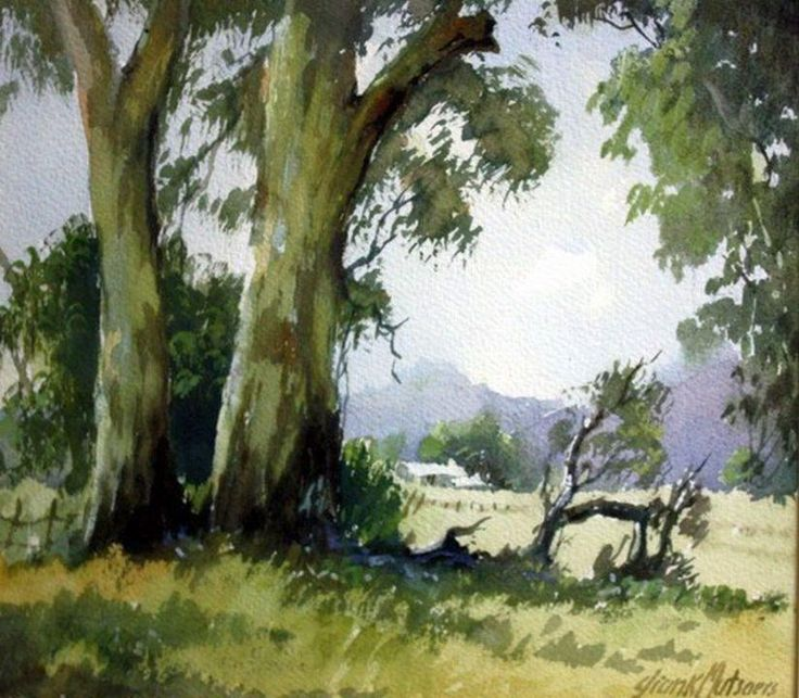 Frank Mutsaers… One from Pair of Landscapes...