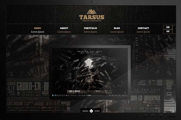 Check out Tarsus - Creative Bold Portfolio by Tarsus on Creative Market