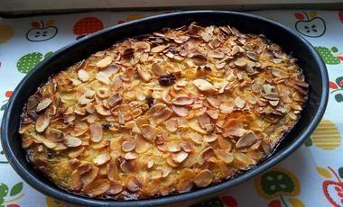 Jablkovo-hruškový quinoa dezert bez lepku
