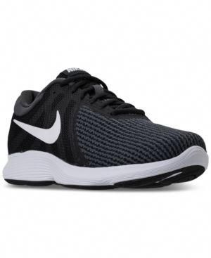 95606cc41faa NIKE MEN S REVOLUTION 4 WIDE WIDTH (4E) RUNNING SNEAKERS FROM FINISH LINE.