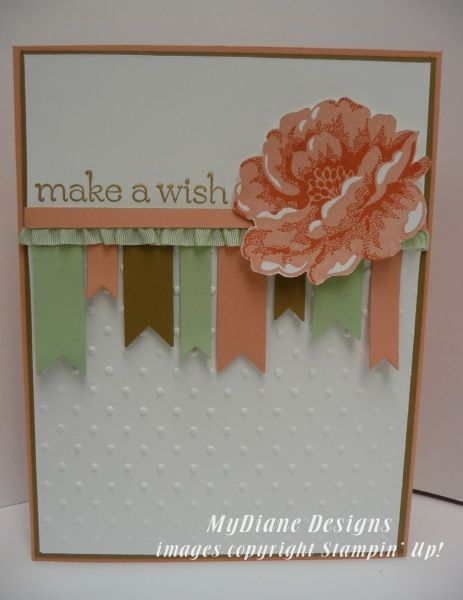 Sweet Blossoms by Diane Malcor - Cards and Paper Crafts at Splitcoaststampers