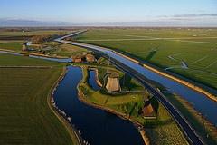 Polder, Windmills, Schermerhorn, North Holland