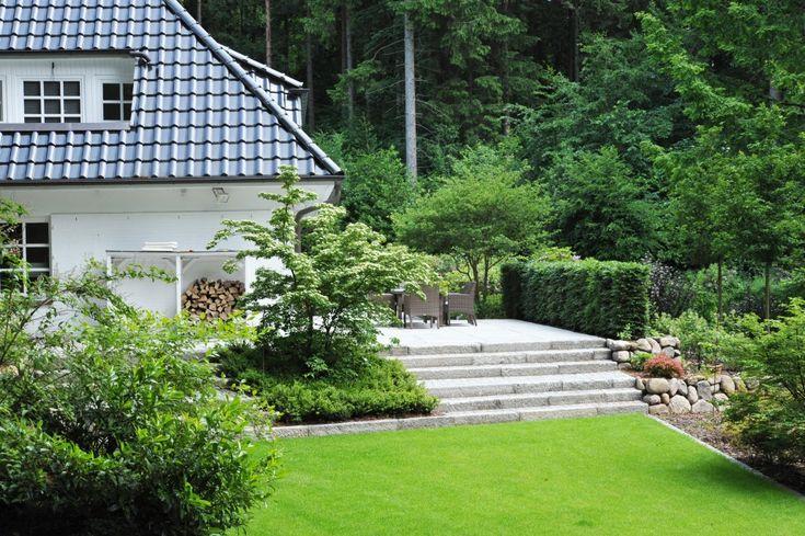 Die 25 besten ideen zu terrassen treppe auf pinterest for Gartengestaltung verschiedene ebenen