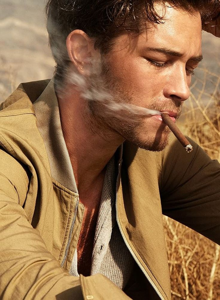 Francisco Lachowski for Harper's Bazaar Men Thailand with the desert concept