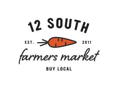 12 South Farmers Market Logo by Joanna Dee