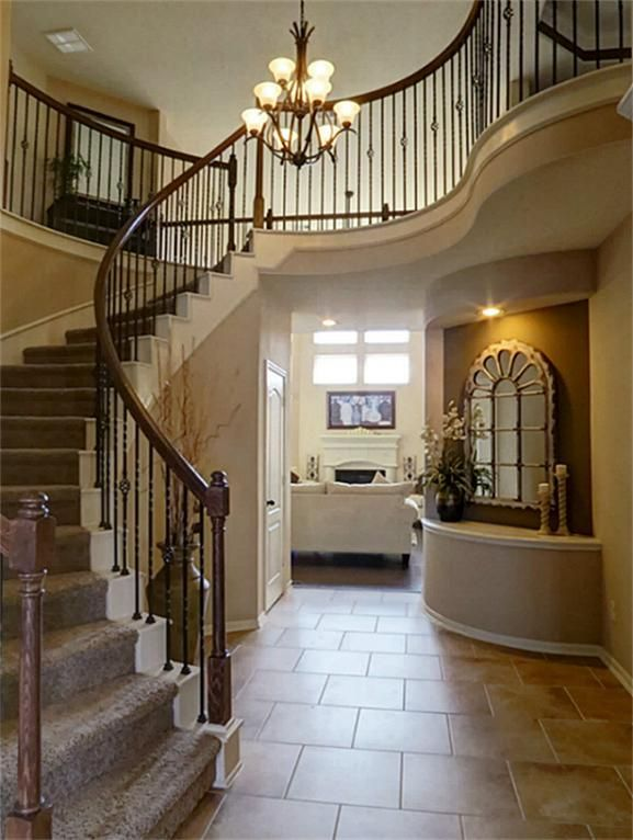 1000 images about house on pinterest for 2 story spiral staircase