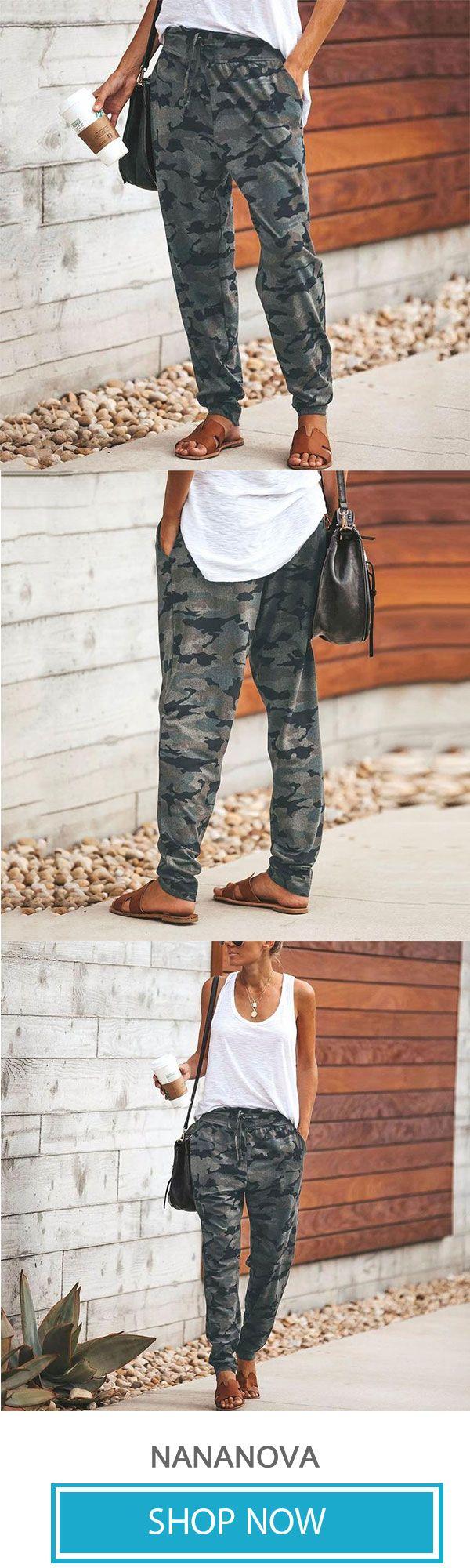 Fashion Camouflage Slim Casual Pants 2