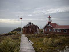 Cape Horn. Cabo de Hornos. Capilla Stella Mais, Faro y Residencia del Casal. Ubicado en la XII Región de Magallanes y Antártica Chilena. http://www.gazetteering.com