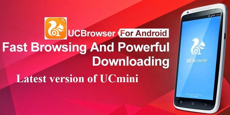 Download and install latest version of UC Browser Mini - Smooth app for free at http://ucmini.net/ .